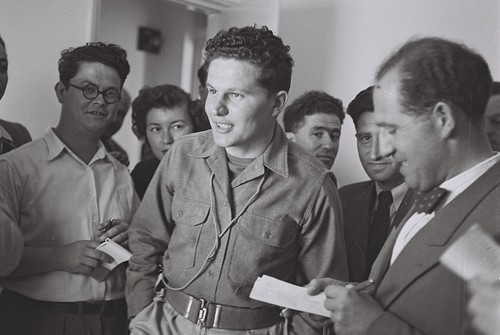 Israeli journalists in 1948