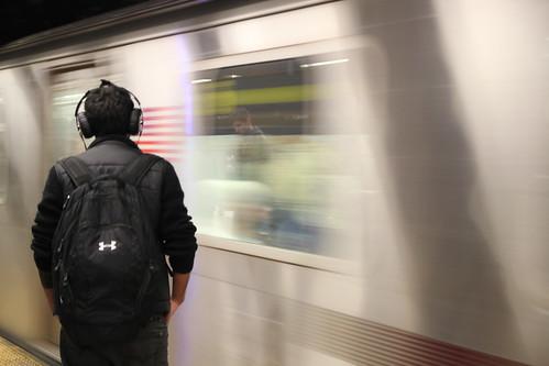 New York Underground stolen moment by Raffaella di Iorio Photography