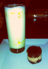 Foiereo and Truffle oil Milkshake