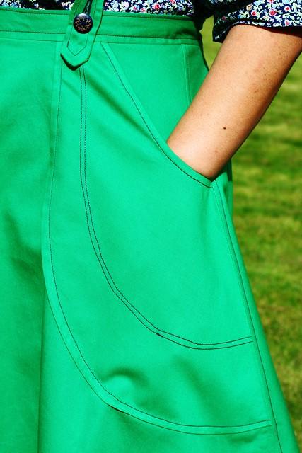 Victory Patterns Madeleine Skirt