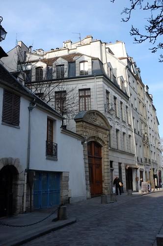 in little alleys around latin quarter