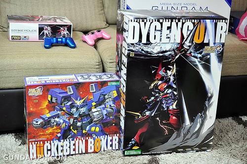 Kotobukiya SRW OG Huckebein Boxer RTX-011AMB Unboxing Review (3)