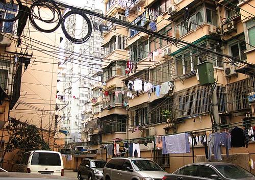 Treppenhaus in Shanghai