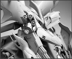 Resin Kit 1100 Nightingale  Neograde Refined Version Built (7)
