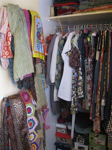 photo a day challenge - inside my closet