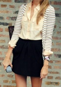 fashion striped sweater