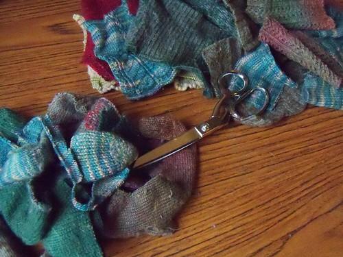 sock scraps