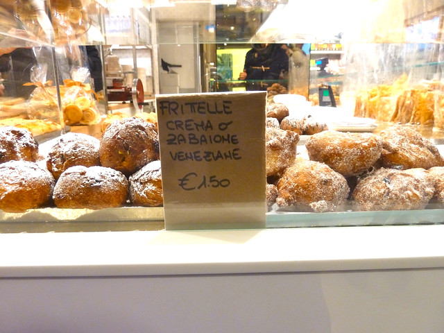 Fritelle - traditional snacks served at Carnival