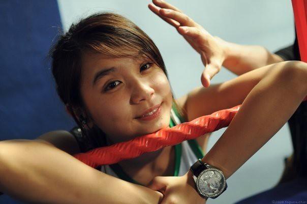 The notorious Zheng Huiting (photo via Temasek Times)