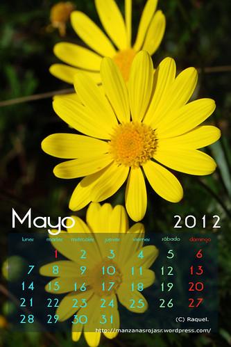 Calendario mayo 2012