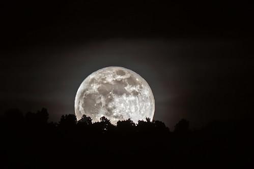 La notte della «Superluna»