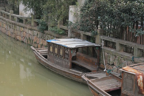 Boats in the canal