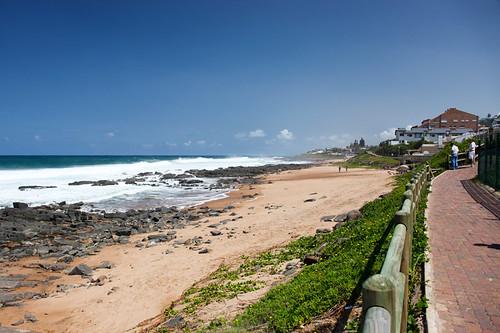 Beachside walk
