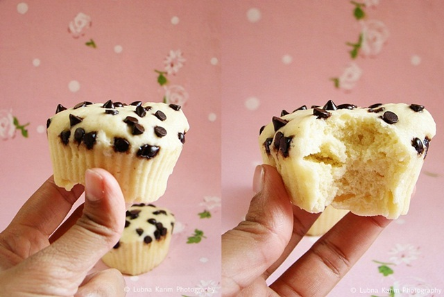 Microwave Chocolate Chip Muffins
