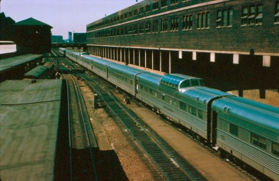 Denver Zephyr, Chicago Union Station, July 1968