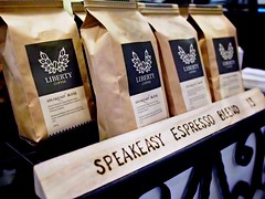 Speakeasy Espresso Blend, Liberty Coffee, Rangoon Road