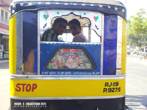 Rickshaws of Jodhpur.