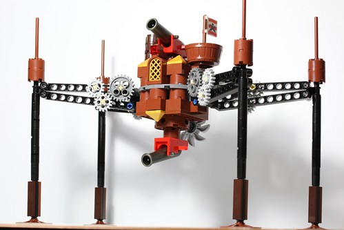 Steampunk OG-9 homing spider droid by dr_spock