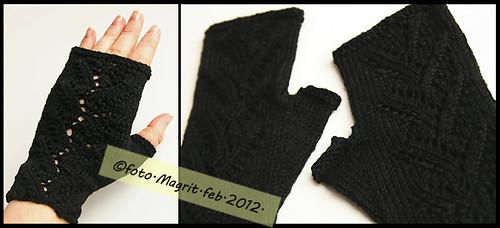 black fingerless