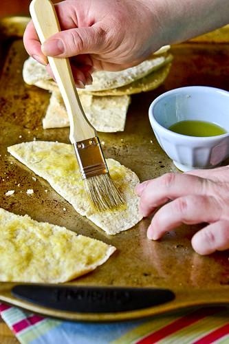 Hummus with Parmesan Herb Pita Chips 11