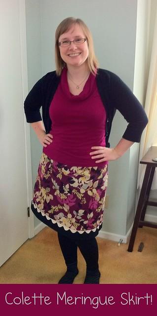 Colette Meringue skirt - Full