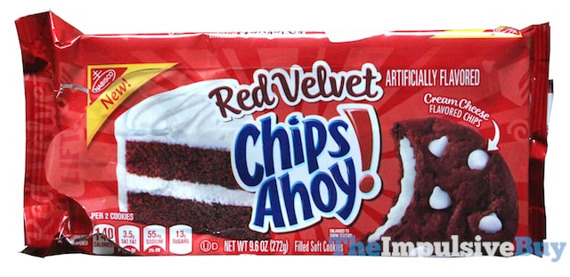 Nabisco Red Velvet Chips Ahoy Cookies
