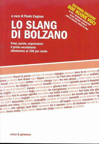 libro - livre - book - buch - paolo cagnan - lo slang di bolzano - frasi parole espressioni - vocabolario altoatesino