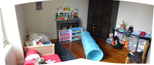 A day in my life: Kid's room
