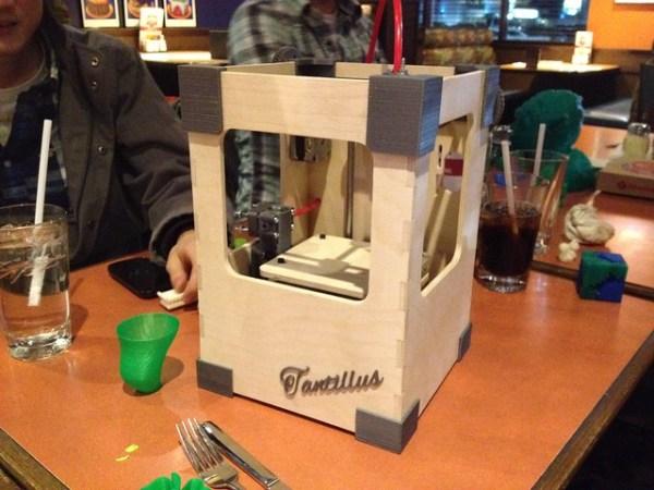 Tantillus wood frame prototype