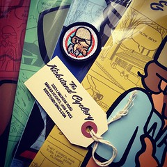 Yehuda Moon & The Kickstand Cyclery - Patch and Books