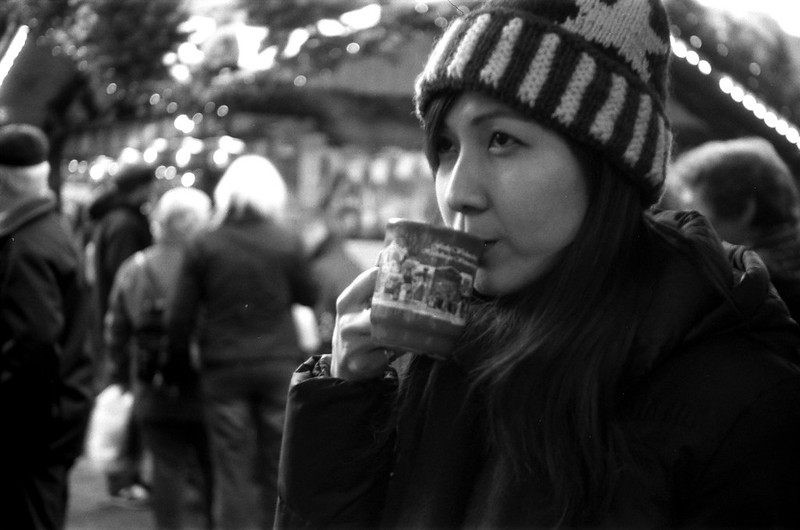 Heidelberg Christmas Market - Film: TMax100 - Model: Lu