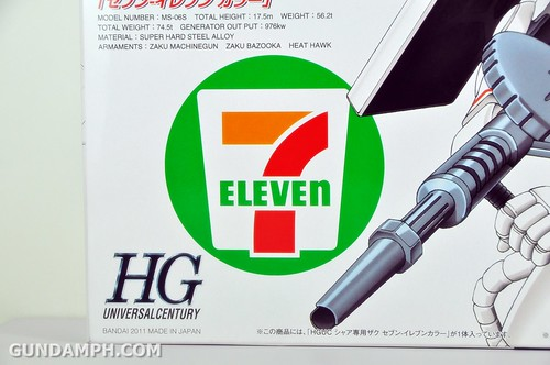 HG 1-144 Zaku 7 Eleven 2011 Limited Edition - Gundam PH  (10)