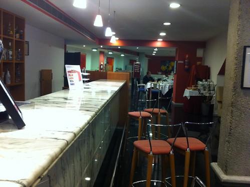 Cafe en el hotel jardines de albia bilbao comer en bilbao - Hotel jardines bilbao ...