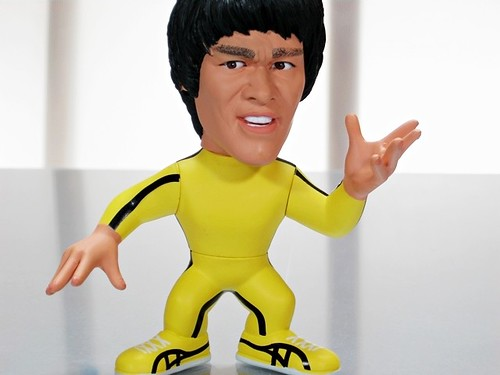 Bruce Lee 'Game of Death' action figure