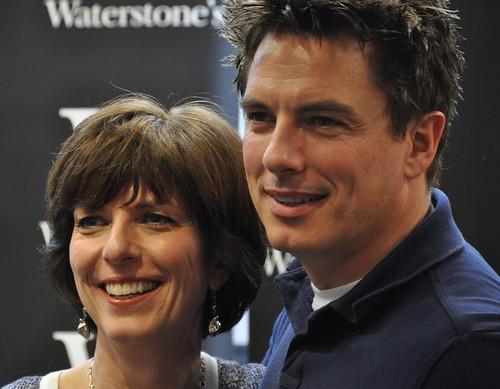 Carole and John Barrowman
