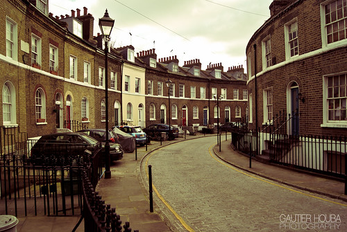 The streets of London