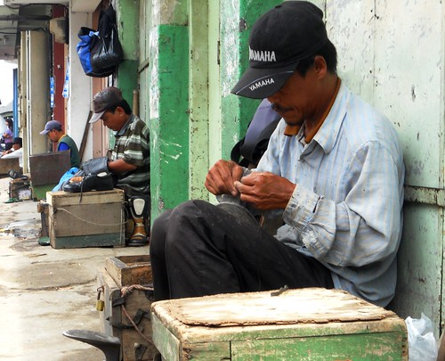 Triple (Traditional shoes repair)