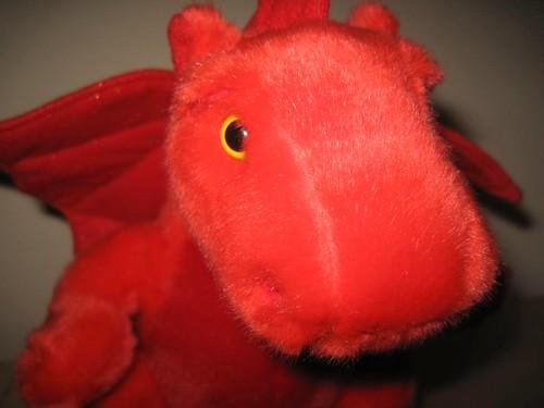 Der kleine rote Drache aus Wales
