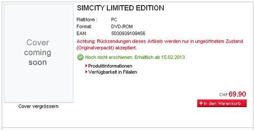 SimCity Release Date Leaked?