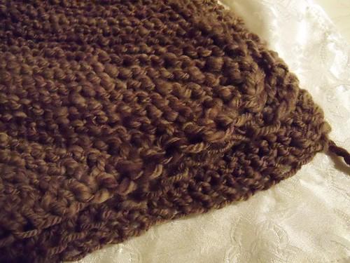big brown blanket