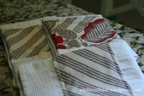 Kitchen Towels close up
