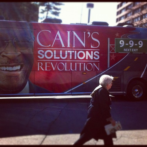 The first thing I saw at CPAC.