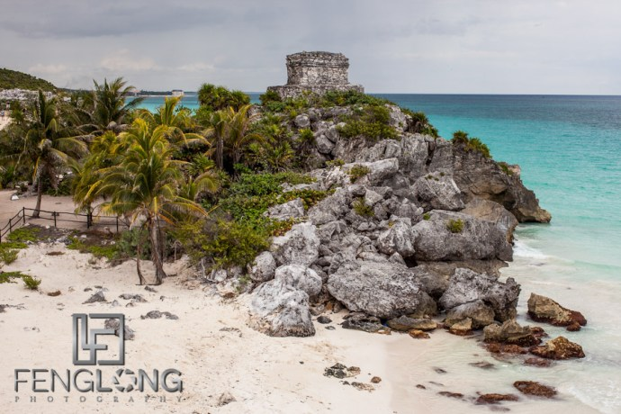 Mayan Ruins at Tulum | Jessica & John's Destination Wedding | Playa del Carmen, Mexico | Riviera Maya Quintana Roo Destination Wedding Photographer