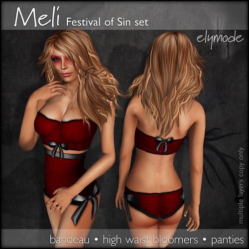 Meli set for the Festival of Sin