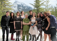 Banff Wedding Party