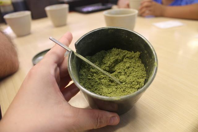 Preparado para té verde