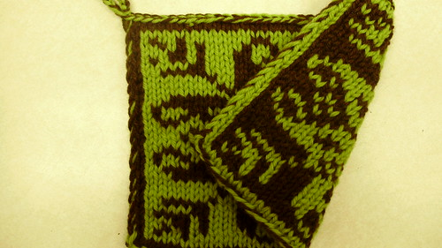 double knit potholder