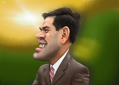 Marco Rubio - Caricature