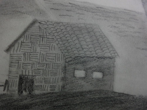 Pencil Shading Landscape