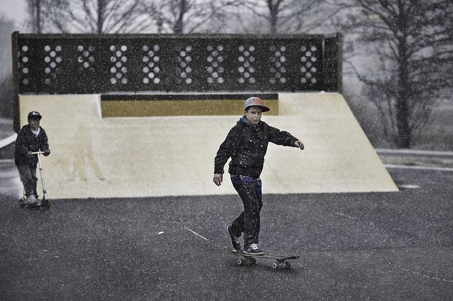 Skateboarding, Finland pt.1